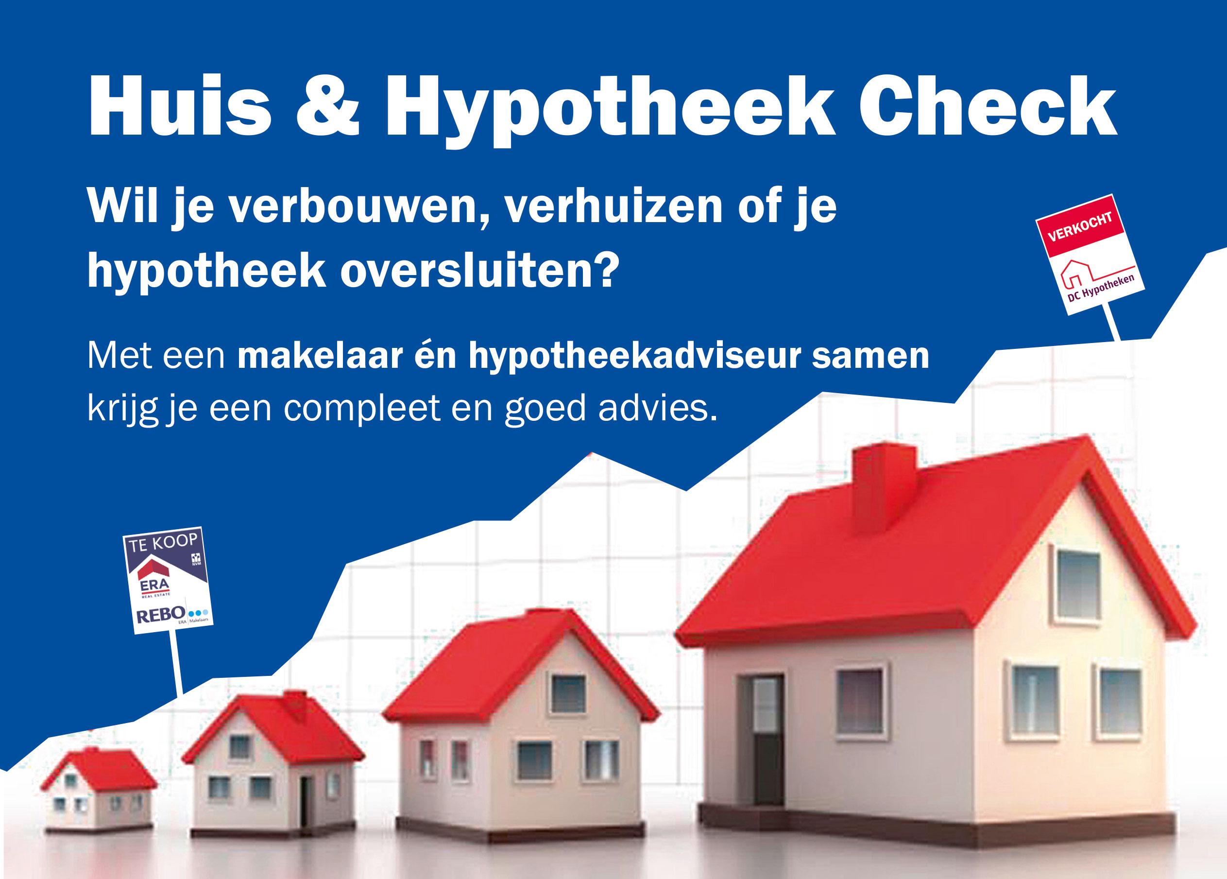 Huis & Hypotheek check bij DC Hypotheken.... Verkocht!